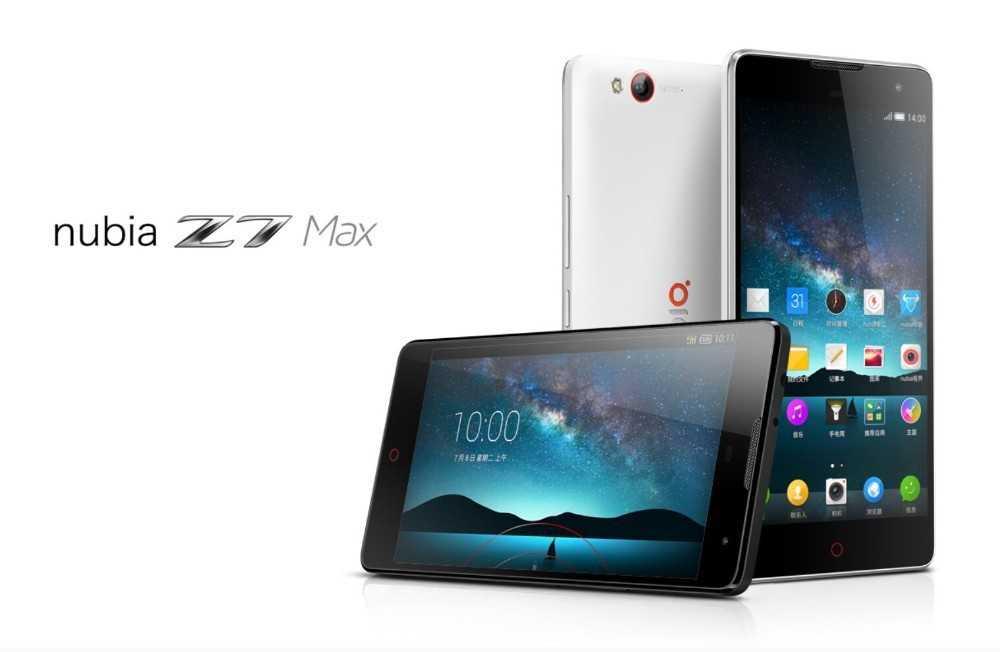 Zte nubia z7 max (белый) - купить , скидки, цена, отзывы, обзор, характеристики - мобильные телефоны