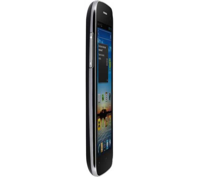 Смартфон fly iq450 quattro horizon 2 black