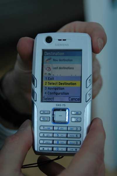 Siemens c75 - описание телефона