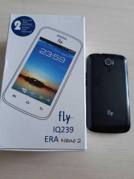 Мобильный телефон Fly IQ239 ERA Nano 2 - подробные характеристики обзоры видео фото Цены в интернет-магазинах где можно купить мобильный телефон Fly IQ239 ERA Nano 2