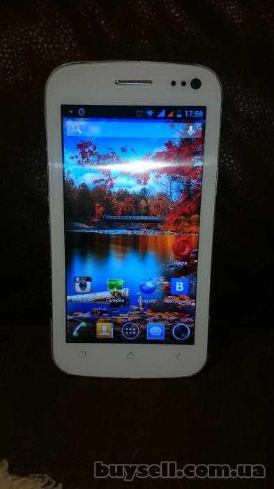 Описание мобильного телефонаfly iq450 horizon